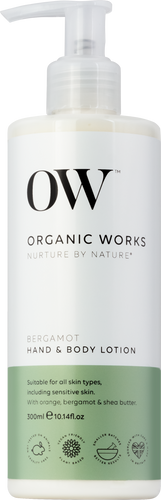 Organic Works Bergamot Hand & Body Lotion