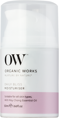 Organic Works Daily Bliss Moisturiser