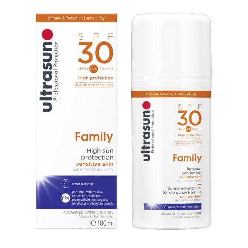 Ultrasun Family SPF 30 150ml boxed