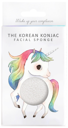 The Konjac Sponge Company Mythical Creatures Unicorn Prancing Sponge