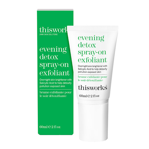 This Works Evening Detox Spray-On Exfoliant
