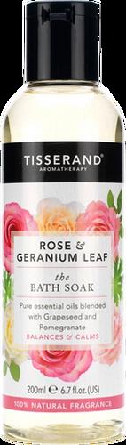 Tisserand Aromatherapy Rose & Geranium Leaf Bath Soak