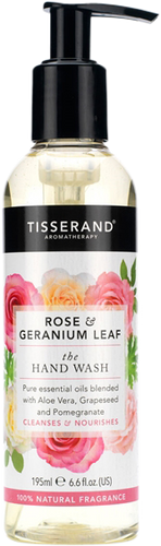 Tisserand Aromatherapy Rose & Geranium Leaf Hand Wash
