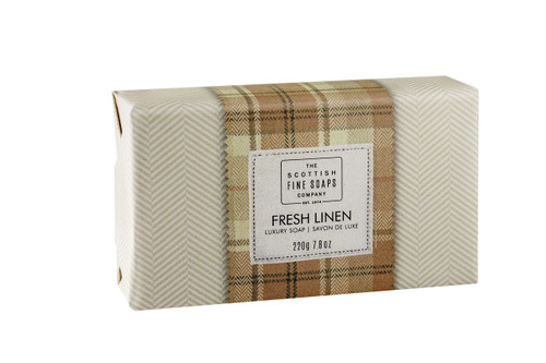 Scottish Fine Soaps Fresh Linen Soap