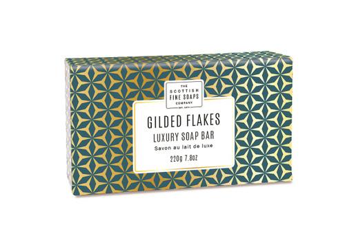 Scottish Fine Soaps Gilded Flakes Luxury Soap Bar