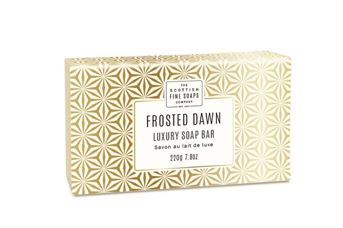 Scottish Fine Soaps Frosted Dawn Luxury Soap Bar