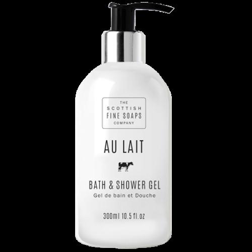 Scottish Fine Soaps Au Lait Bath and Shower Gel