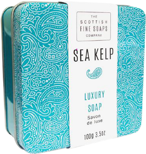 Scottish Fine Soaps Sea Kelp Luxury Soap In Tin