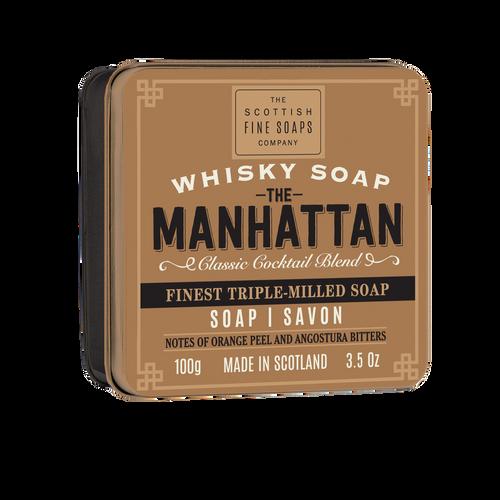 Scottish Fine Soaps Manhattan Soap Tin - 100g