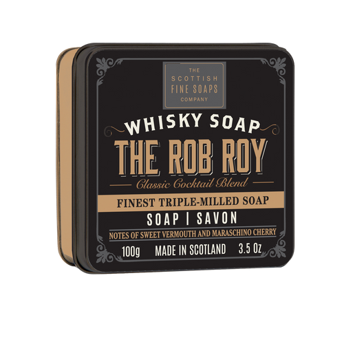 Scottish Fine Soaps The Rob Roy Soap Tin - 100g