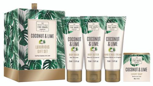 Scottish Fine Soaps Coconut & Lime Gift Set