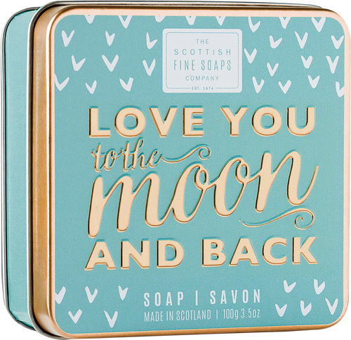 Scottish Fine Soaps Love You to the Moon and Back Soap in a Tin