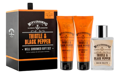 Scottish Fine Soaps Well Groomed Gift Set
