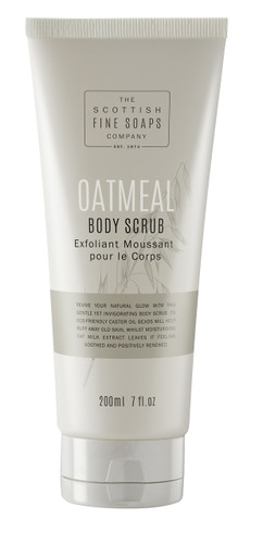Scottish Fine Soaps Oatmeal Body Scrub