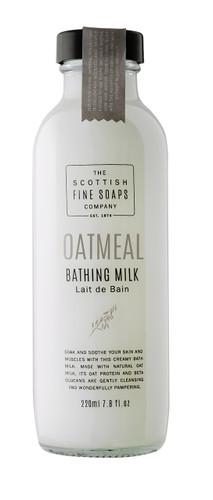 Scottish Fine Soaps Oatmeal Bathing Milk