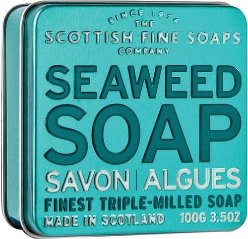 Scottish Fine Soaps Seaweed Soap Tin