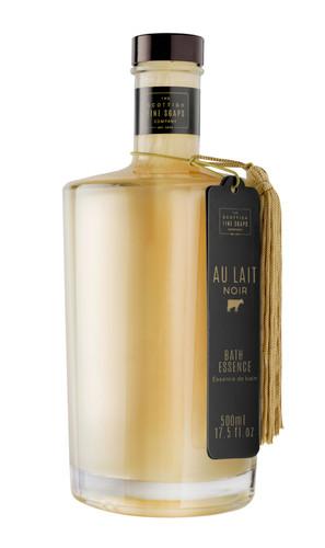 Scottish Fine Soaps Au Lait Noir Bath Essence Bottle