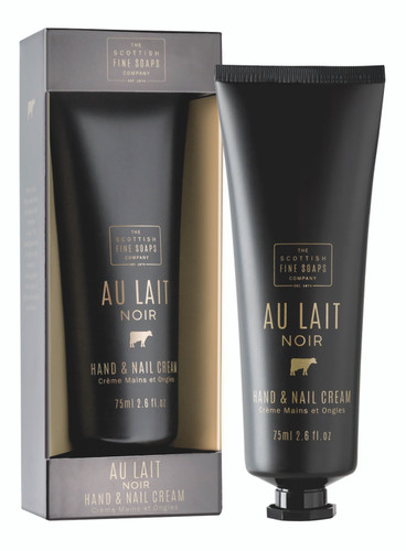 Scottish Fine Soaps Au Lait Noir Hand & Nail Cream