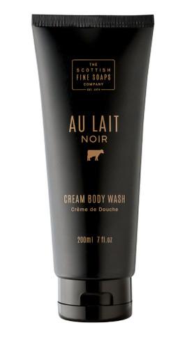Scottish Fine Soaps Au Lait Noir Cream Body Wash