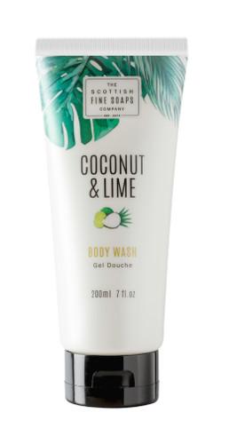Scottish Fine Soaps Coconut & Lime Body Wash