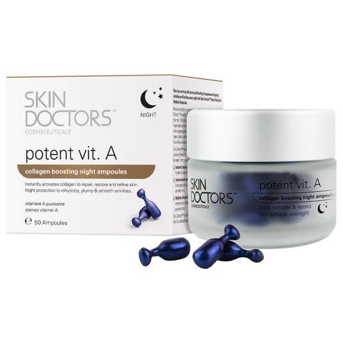 Skin Doctors Potent Vitamin A Night Ampoules - 50 x Ampoules