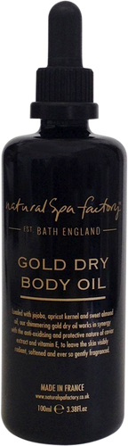 Natural Spa Factory Gold Dry Body Oil - 100ml