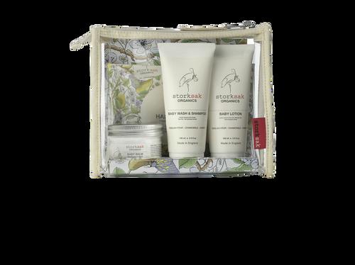 Storksak Organics Little Traveller Gift Set