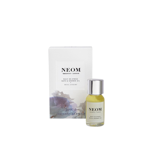 Neom Real Luxury Daily De-Stress Bath & Shower Oil - 10ml