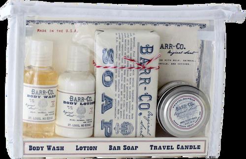 Barr-Co. Original Scent Travel Bath Set