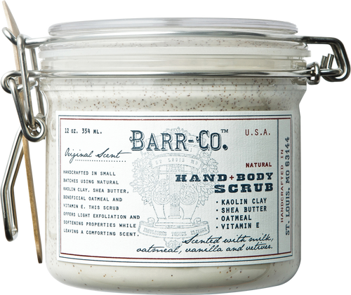 Barr-Co. Natural Clay Hand & Body Scrub