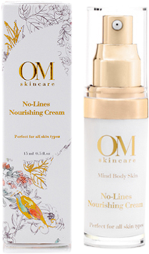 OM Skincare No-Lines Nourishing Cream