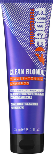 Fudge Clean Blonde Violet Toning Purple Shampoo - 250ml