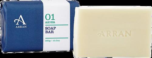 Arran Sense of Scotland Apothecary Aloe Vera Soap - 300g
