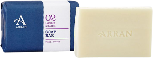 Arran Sense of Scotland Apothecary Lavender & Tea Tree Soap - 300g