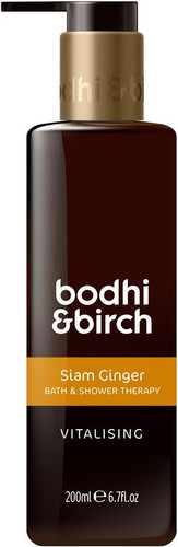 Bodhi & Birch Siam Ginger Vitalising Bath & Shower Therapy