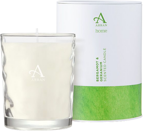 Arran Sense of Scotland Bergamot & Geranium Candle