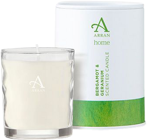 Arran Sense of Scotland Bergamot & Geranium Travel Candle
