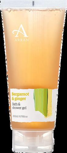 Arran Sense of Scotland Formulas Bergamot & Ginger Bath & Shower Gel