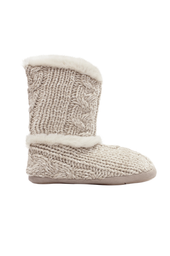 Ruby + Ed Oyster Knit Boot