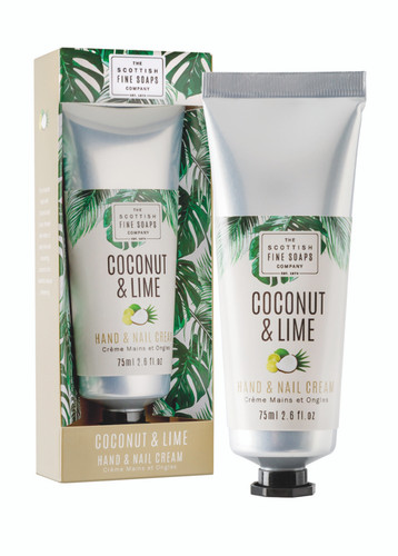 Scottish Fine Soaps Coconut & Lime Hand & Nail Cream