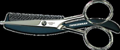 Tweezerman Moustache Scissors with Grooming Comb