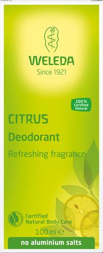Weleda Citrus Deodorant - 100ml