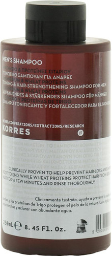 Korres Magnesium & Wheat Proteins Shampoo for Men