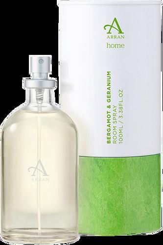 Arran Sense of Scotland Home Bergamot & Geranium Room Spray