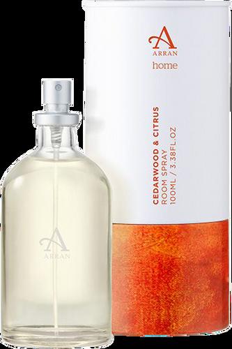 Arran Sense of Scotland Home Cedarwood & Citrus Room Spray
