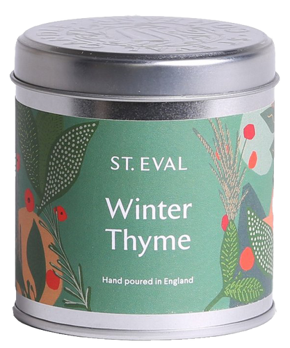 St Eval Candle Winter Thyme Tin Candle