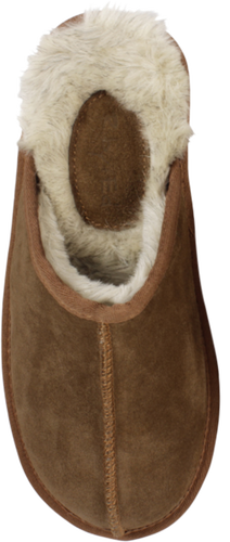 Ruby + Ed Men's Chestnut Scuff Slipper