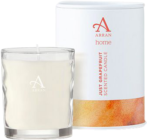 Arran Sense of Scotland Just Grapefruit Travel Candle