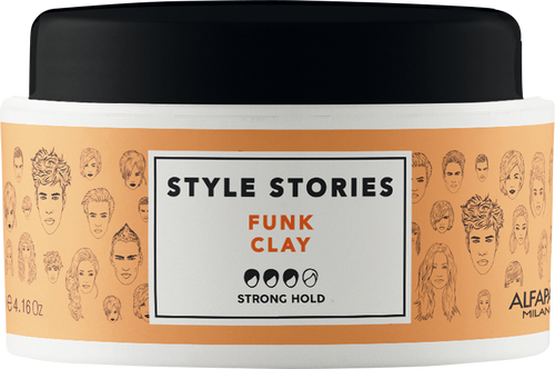 Alfaparf Style Stories Funk Clay
