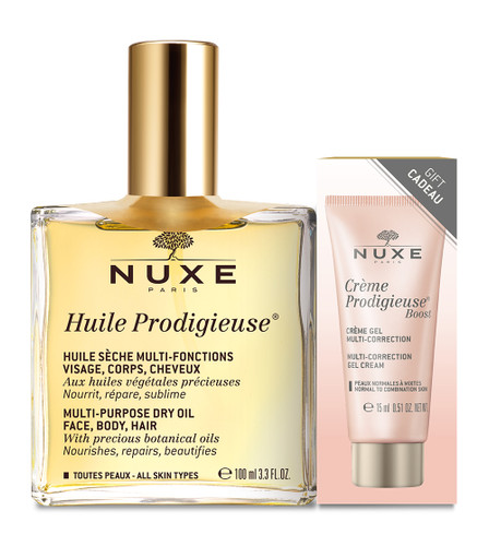 Nuxe Huile Prodigieuse + Crème Prodigieuse Boost Cream